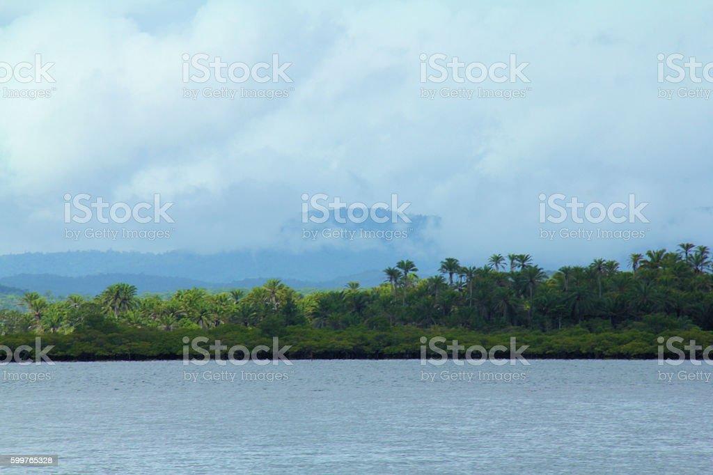 Baía de Camamu. stock photo