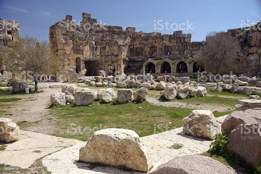 Baalbek, Bekaa Valley, Lebanon stock photo