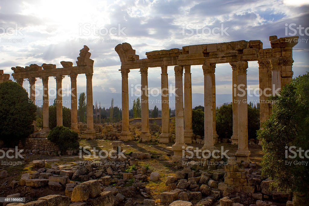 Baalbek, Lebanon, Middle East stock photo