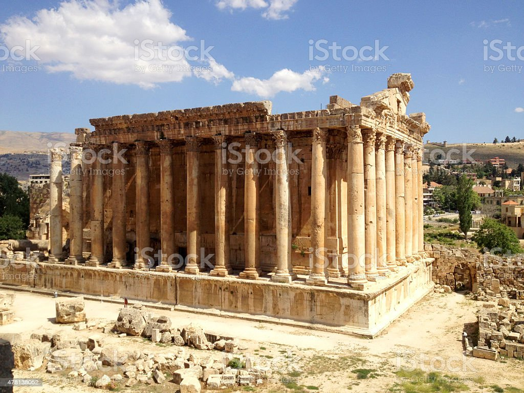 Baalbek, Lebanon stock photo