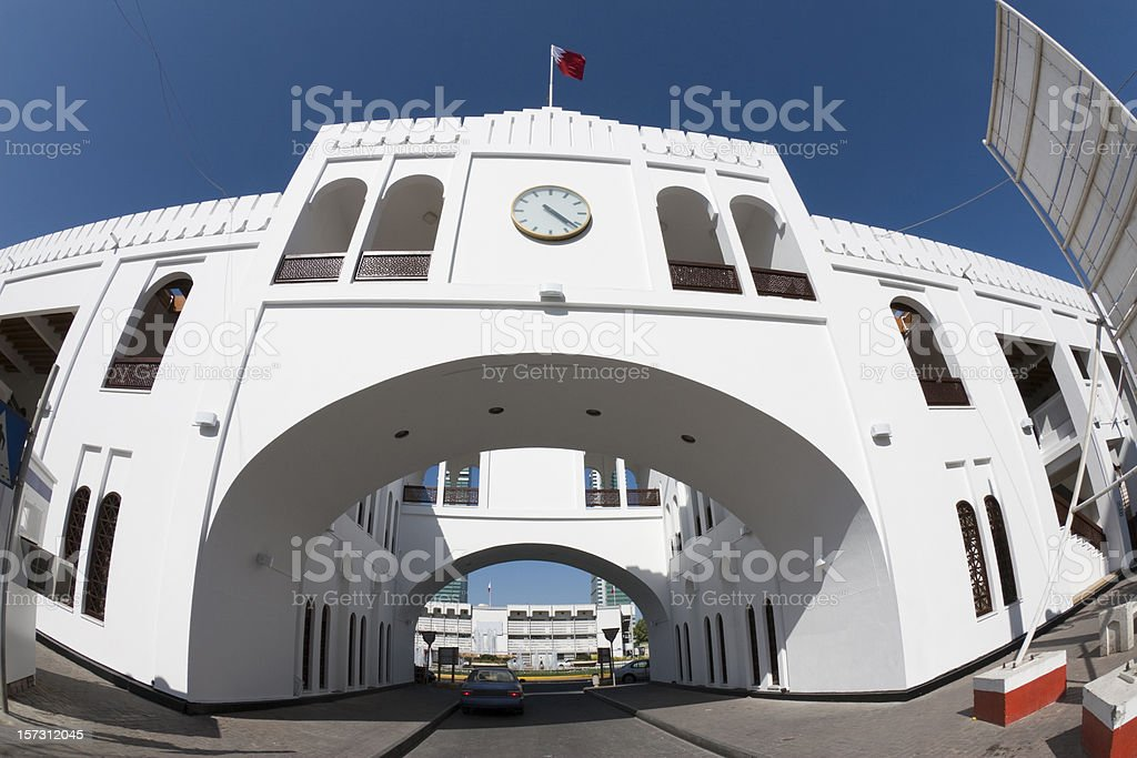 Bab Al Bahrain royalty-free stock photo