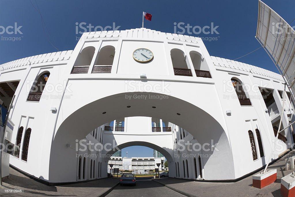 Bab Al Bahrain stock photo
