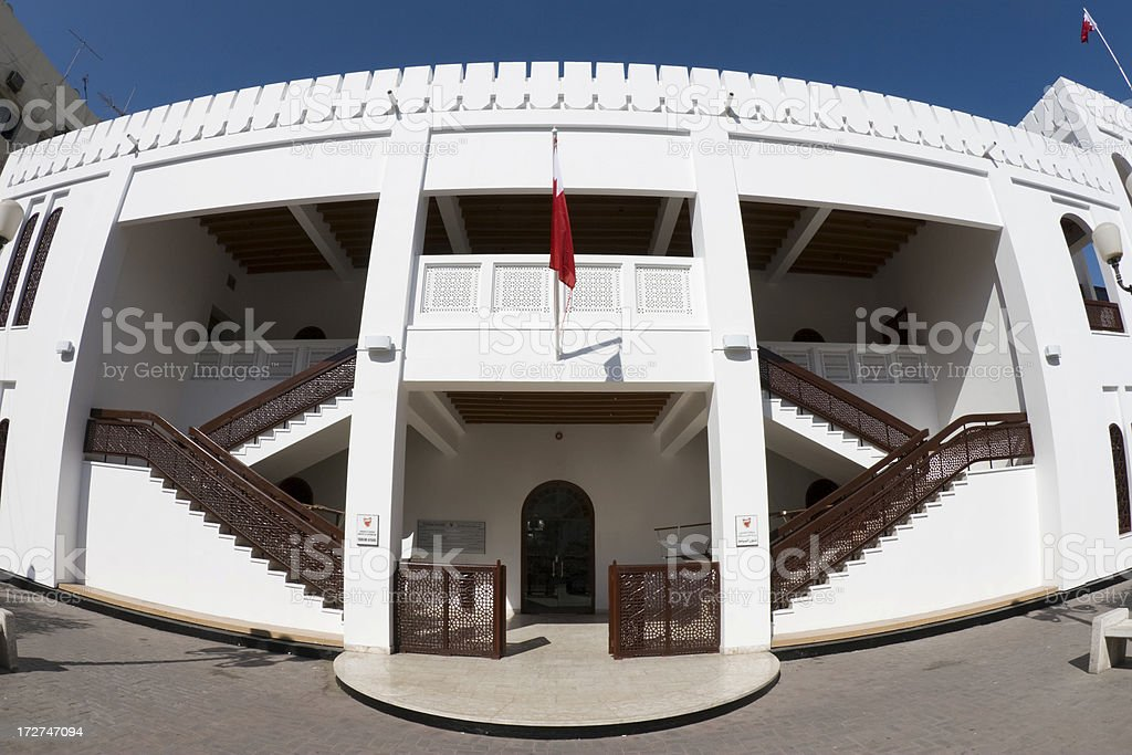Bab Al Bahrain stock photo