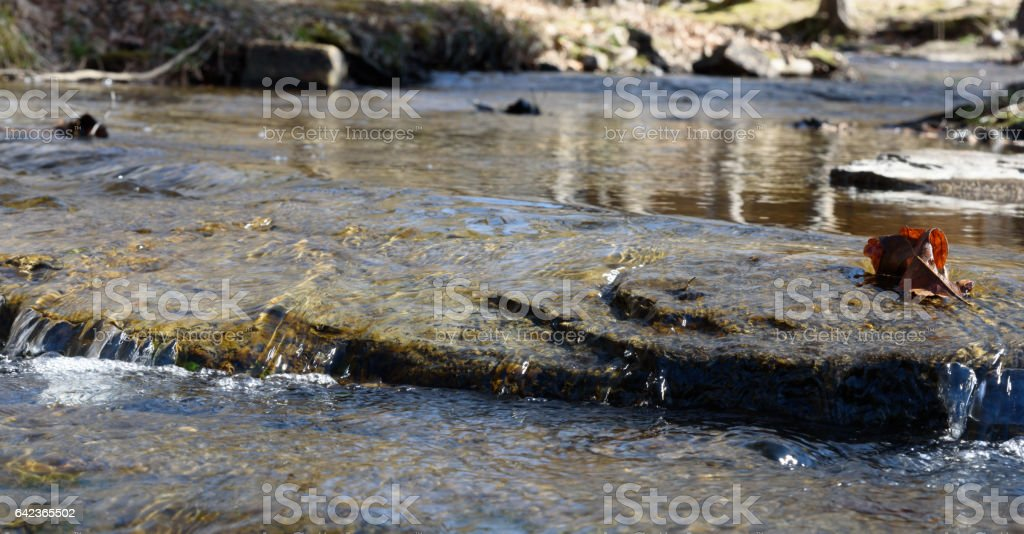 Babbling Brook stock photo