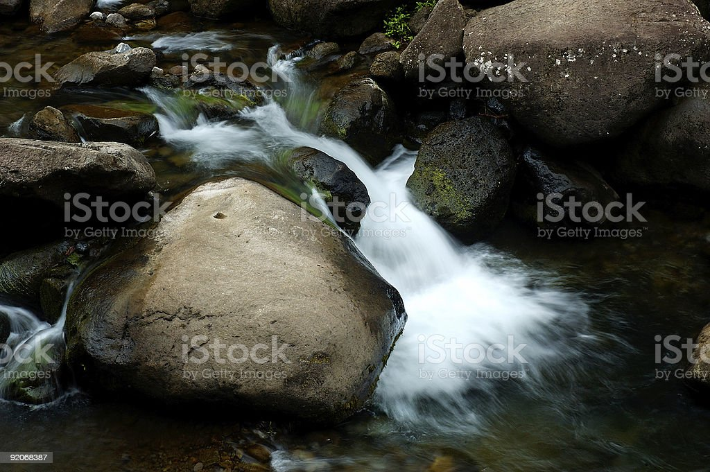 babbling brook royalty-free stock photo
