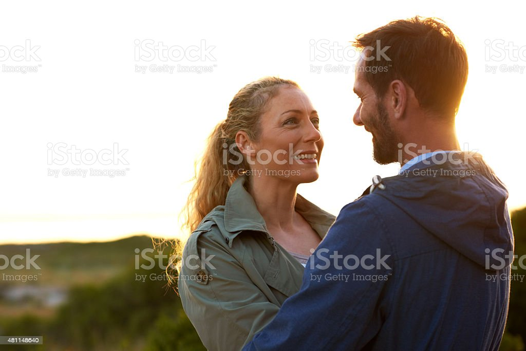 Babe, you're my greatest adventure stock photo