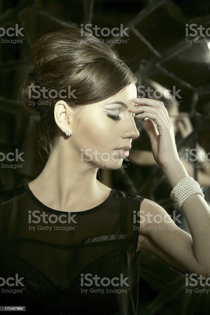Babette royalty-free stock photo