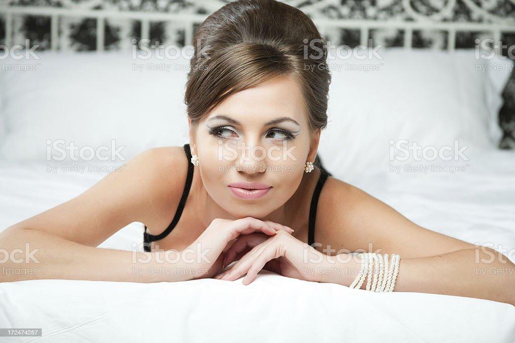 Babette royalty-free stock photo