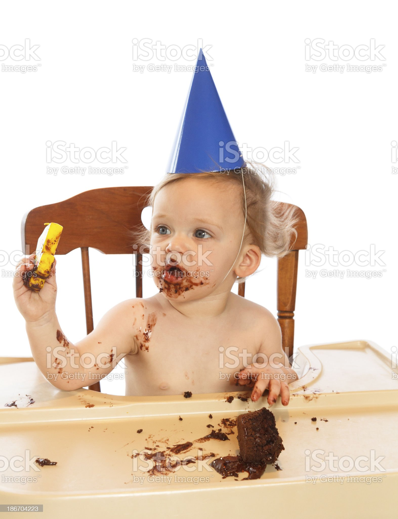 Babies First Birthday royalty-free stock photo