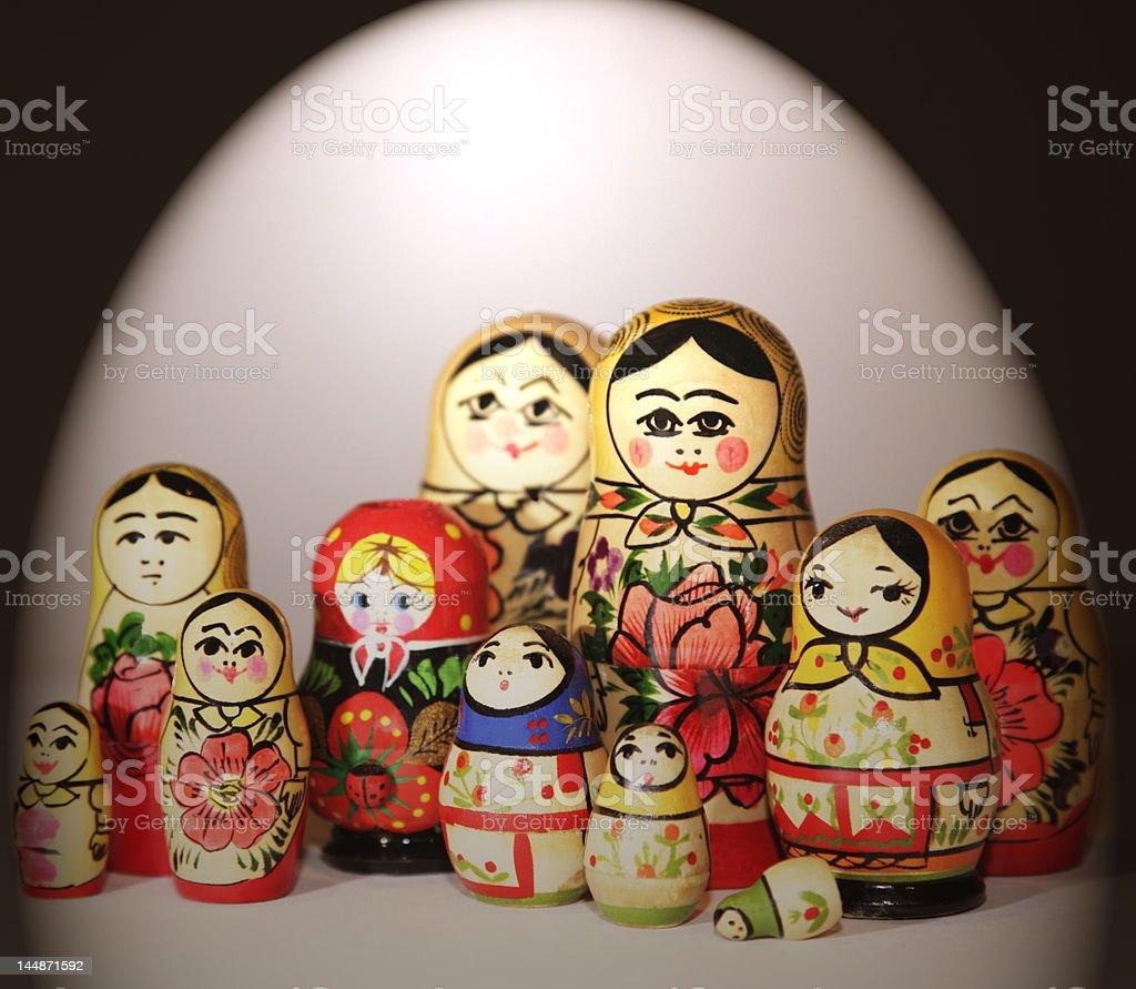 babushka 2 royalty-free stock photo