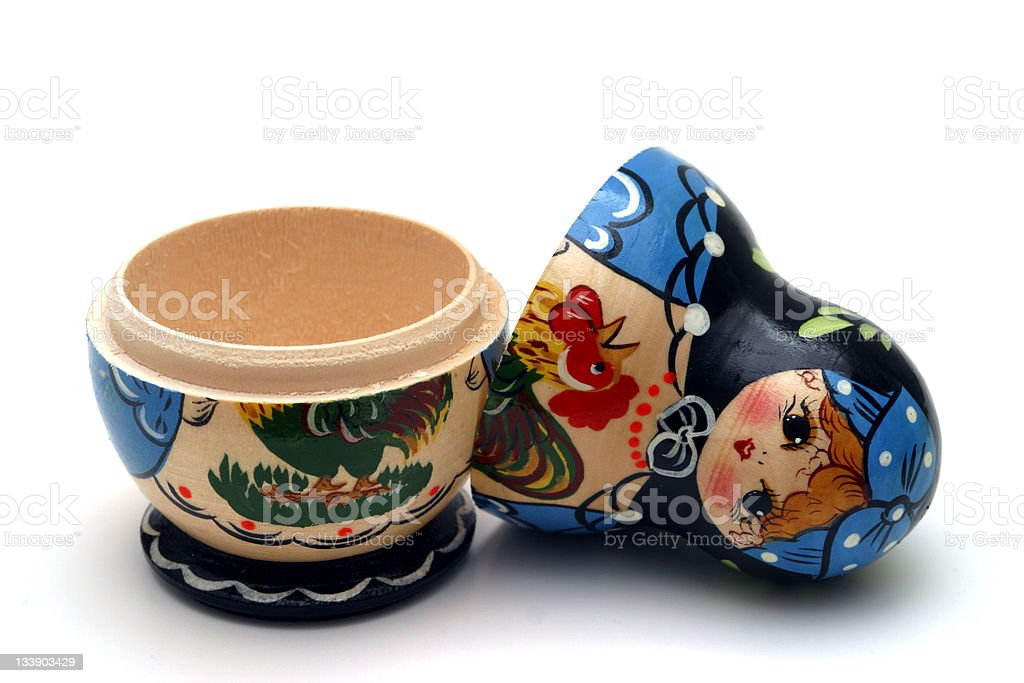 Babushka Doll stock photo