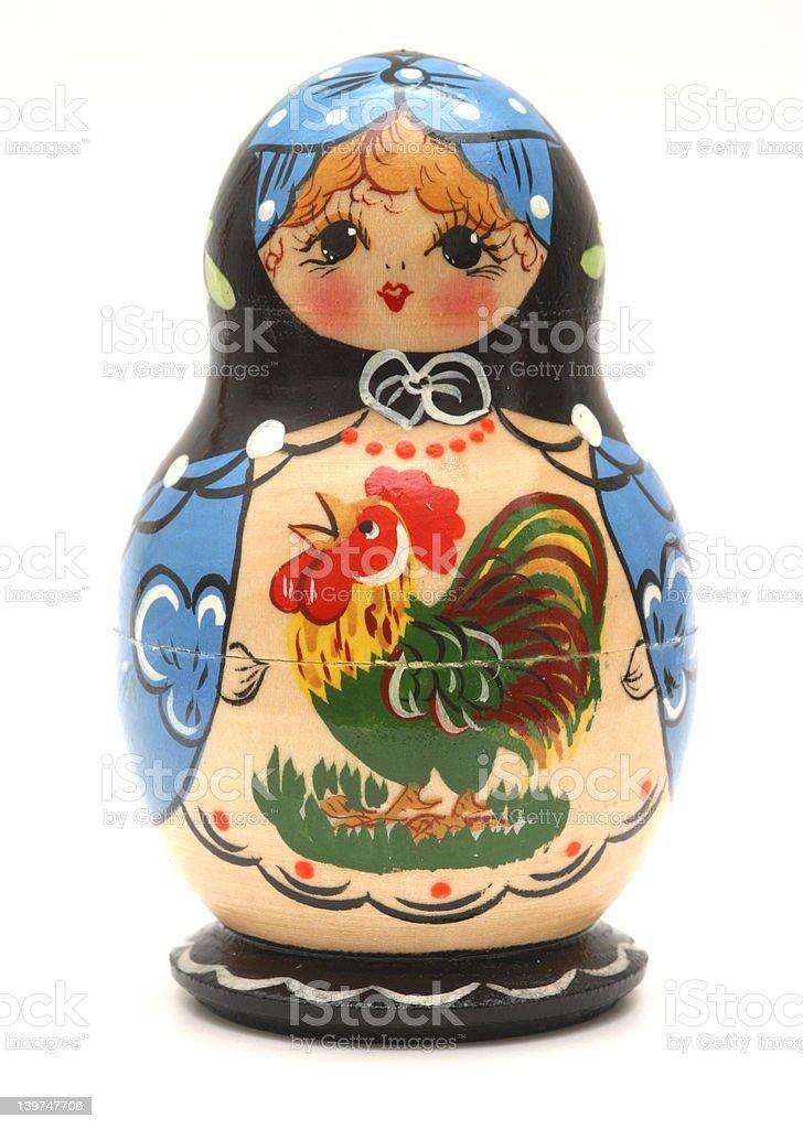 Babushka Doll royalty-free stock photo