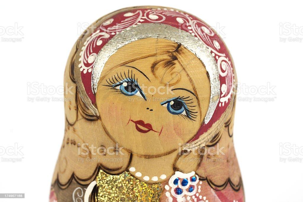 Babushka nesting doll royalty-free stock photo