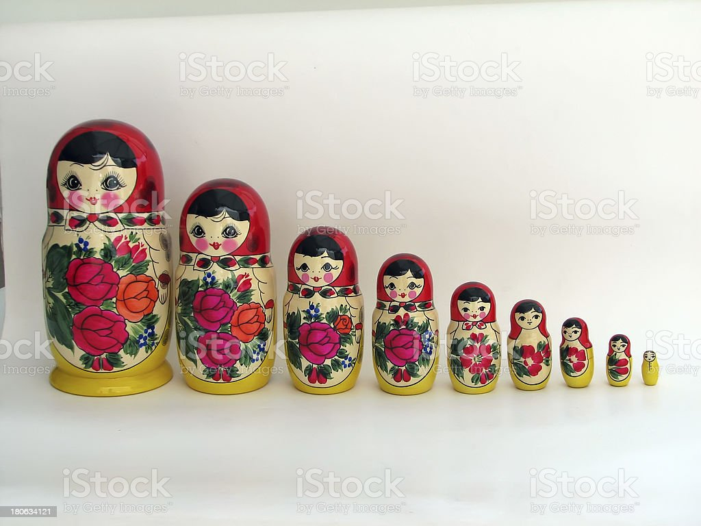 Babushka royalty-free stock photo