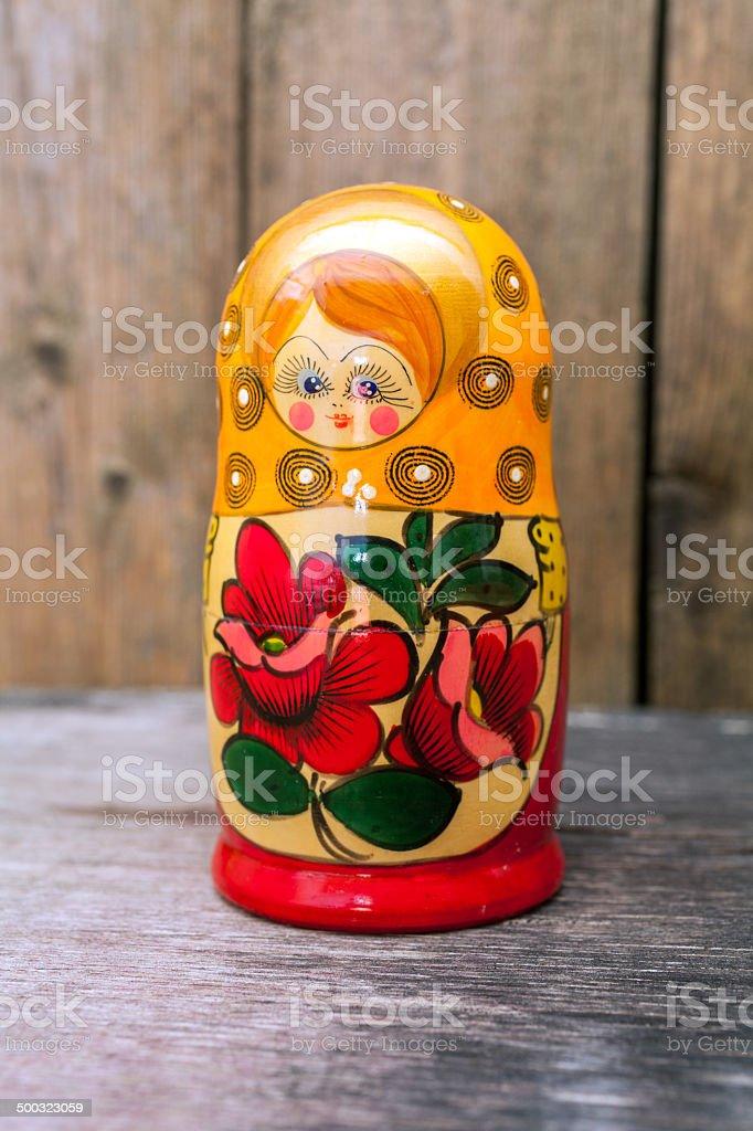 Babushkas or matryoshkas dolls. royalty-free stock photo
