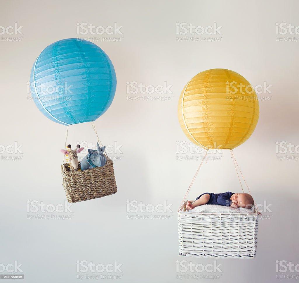 Baby Adventure stock photo