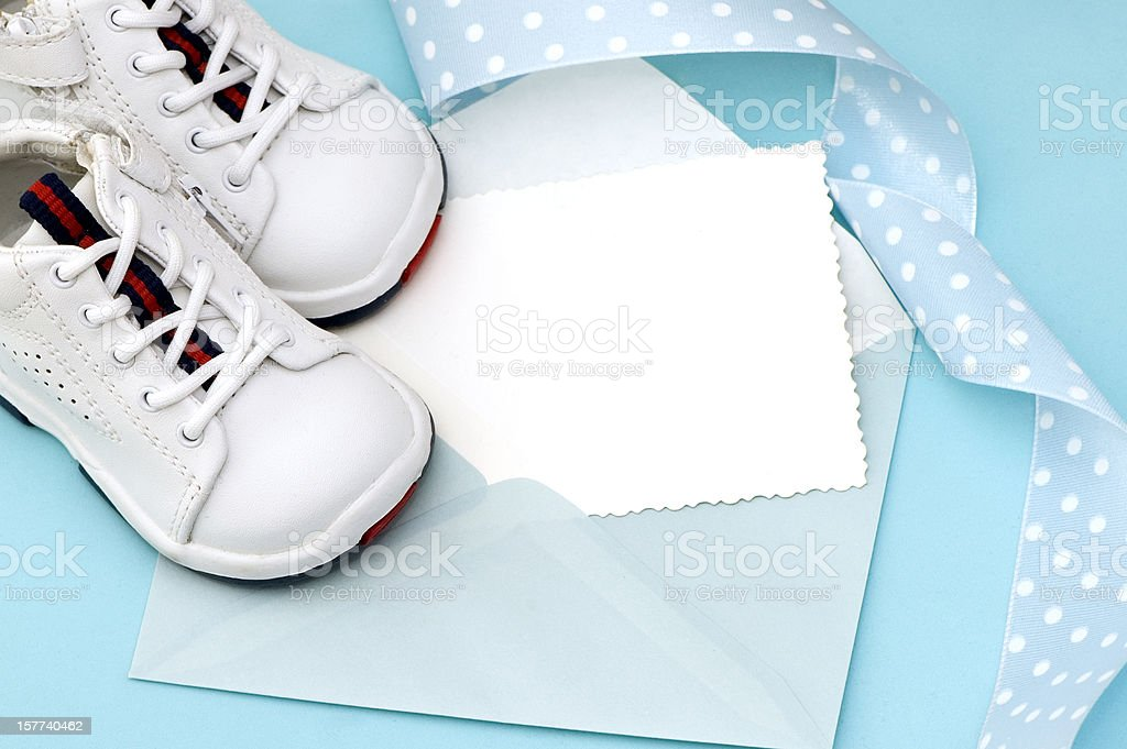 Baby  Announcement royalty-free stock photo