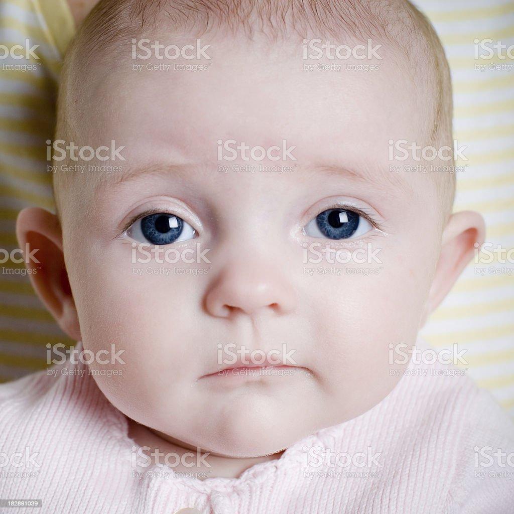 Baby Attitude stock photo