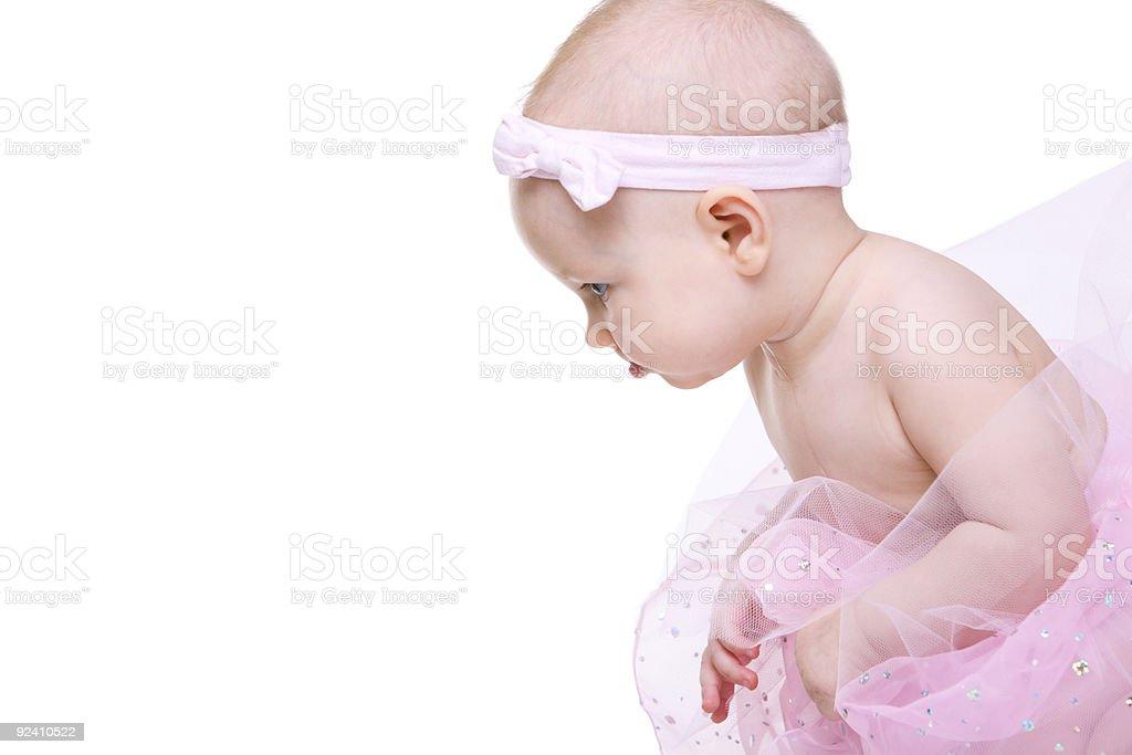 Baby Ballerina royalty-free stock photo