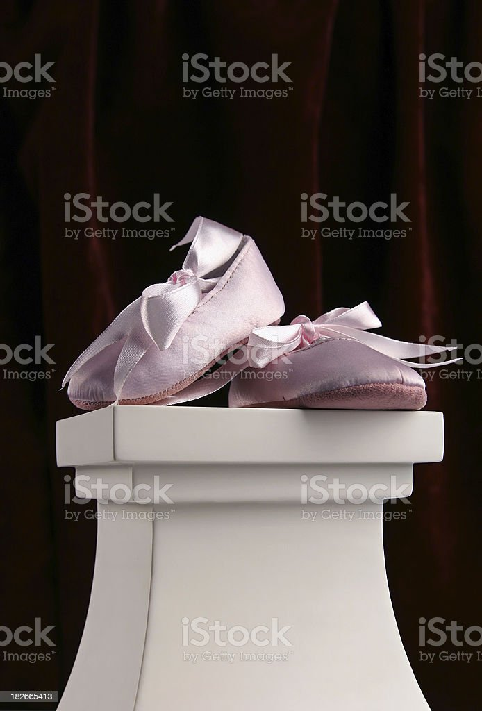 Baby Ballet royalty-free stock photo