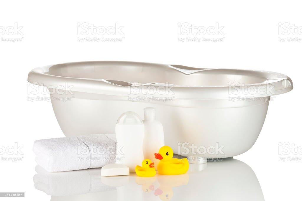 Baby Bathtub royalty-free stock photo
