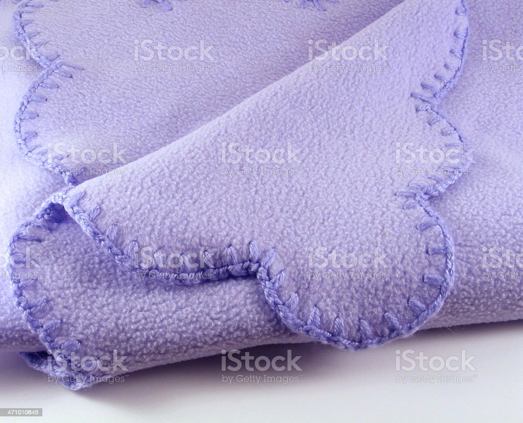 Baby Blanket Detail royalty-free stock photo