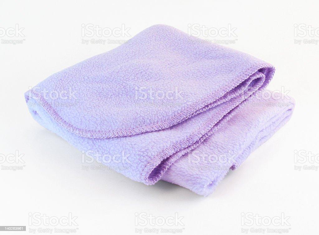 Baby Blanket w/ path royalty-free stock photo