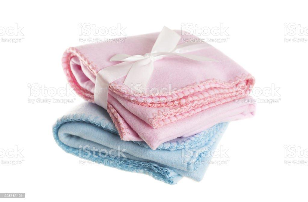 Baby Blankets stock photo