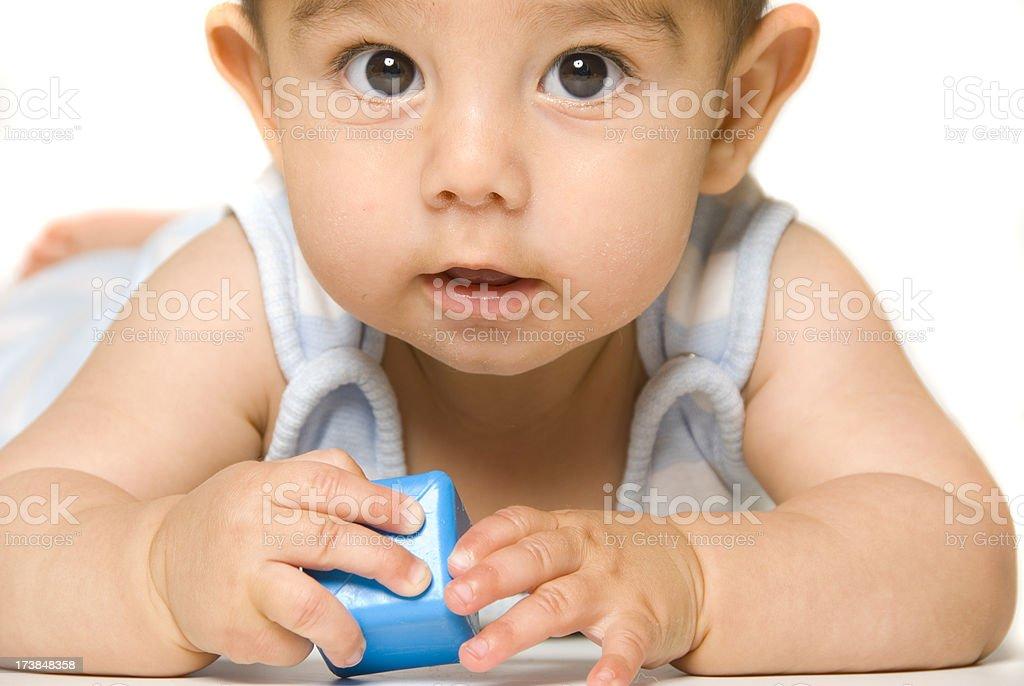 Baby Block stock photo