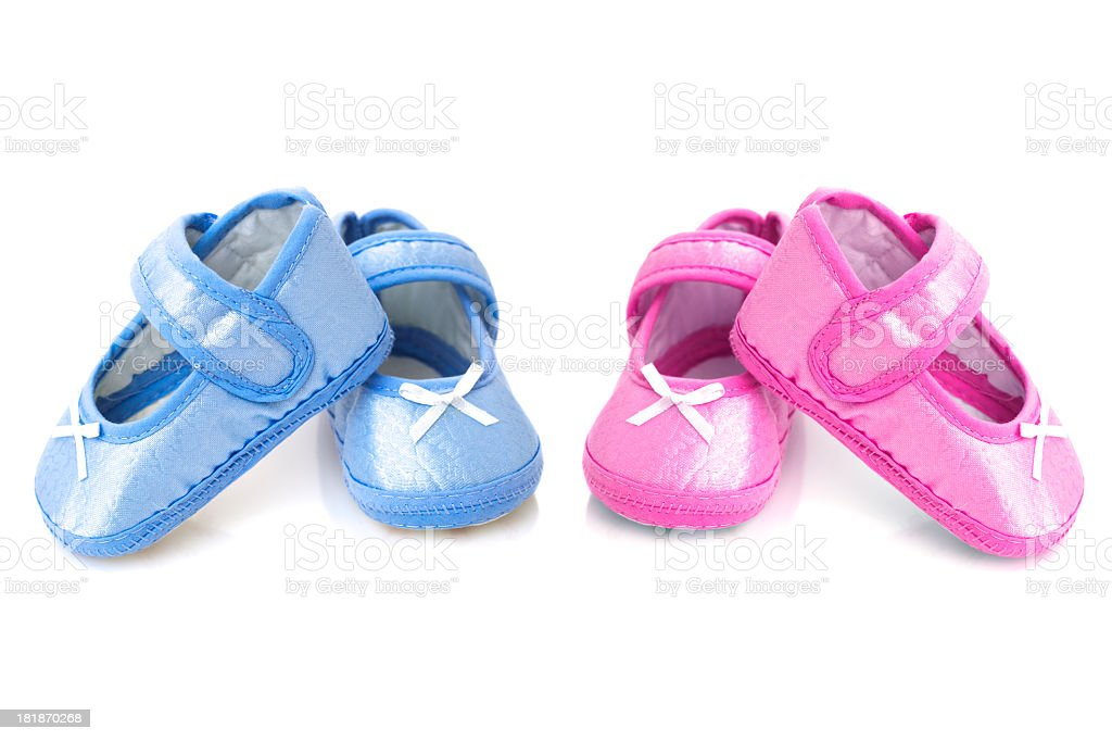 Baby Booties royalty-free stock photo
