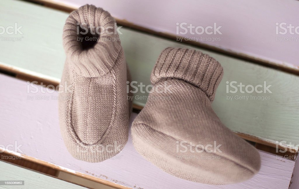 Baby Boots royalty-free stock photo
