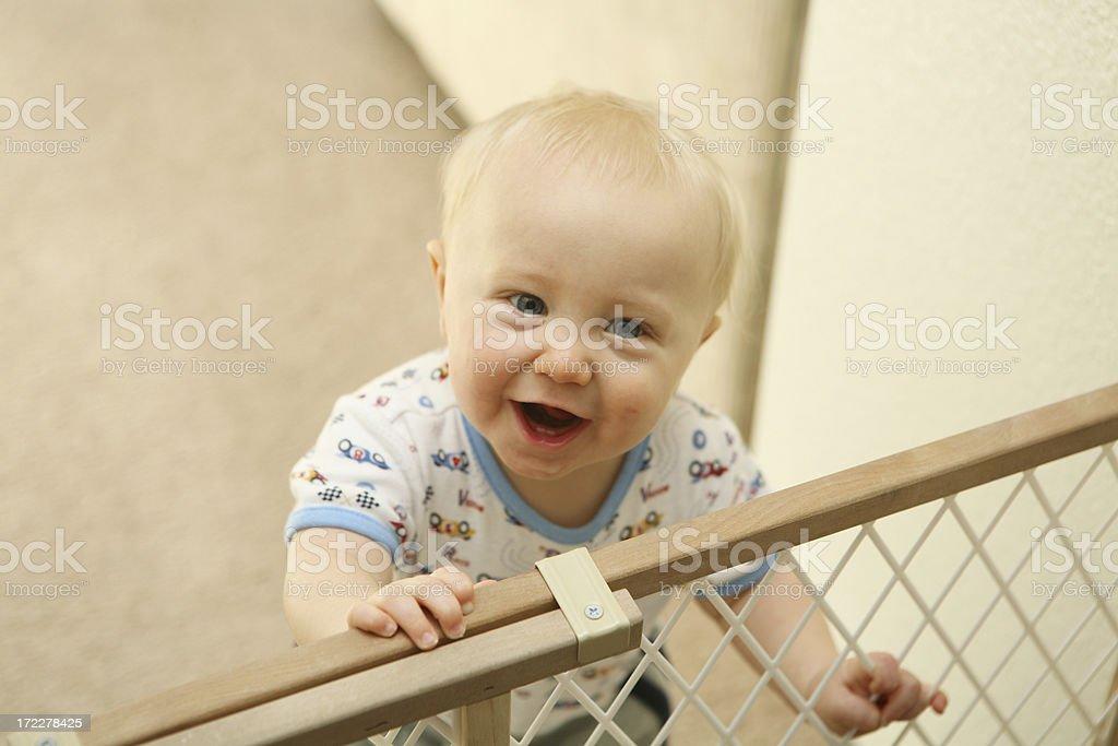 Baby Boundaries stock photo