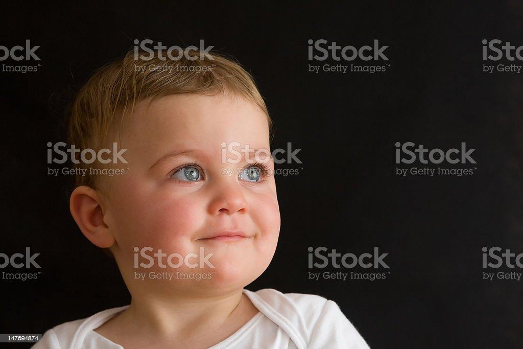 baby boy stock photo