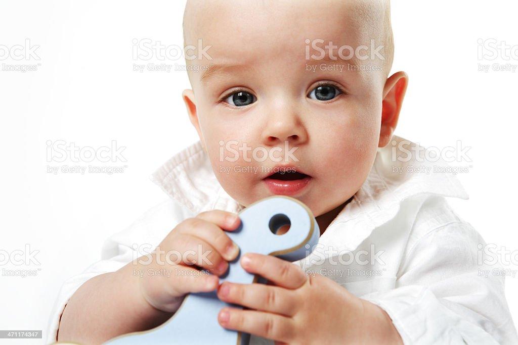 Baby boy. royalty-free stock photo