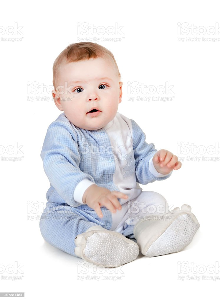 Baby boy. stock photo