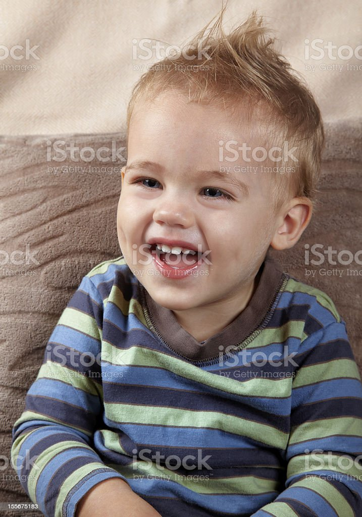 Baby boy portrait royalty-free stock photo