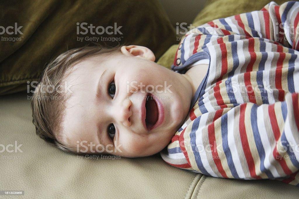 baby boy smile royalty-free stock photo