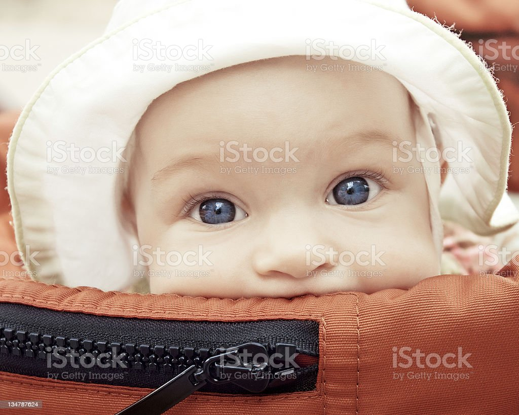 Baby buggy royalty-free stock photo