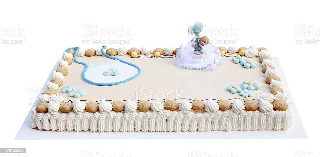 Baby cake royalty-free stock photo
