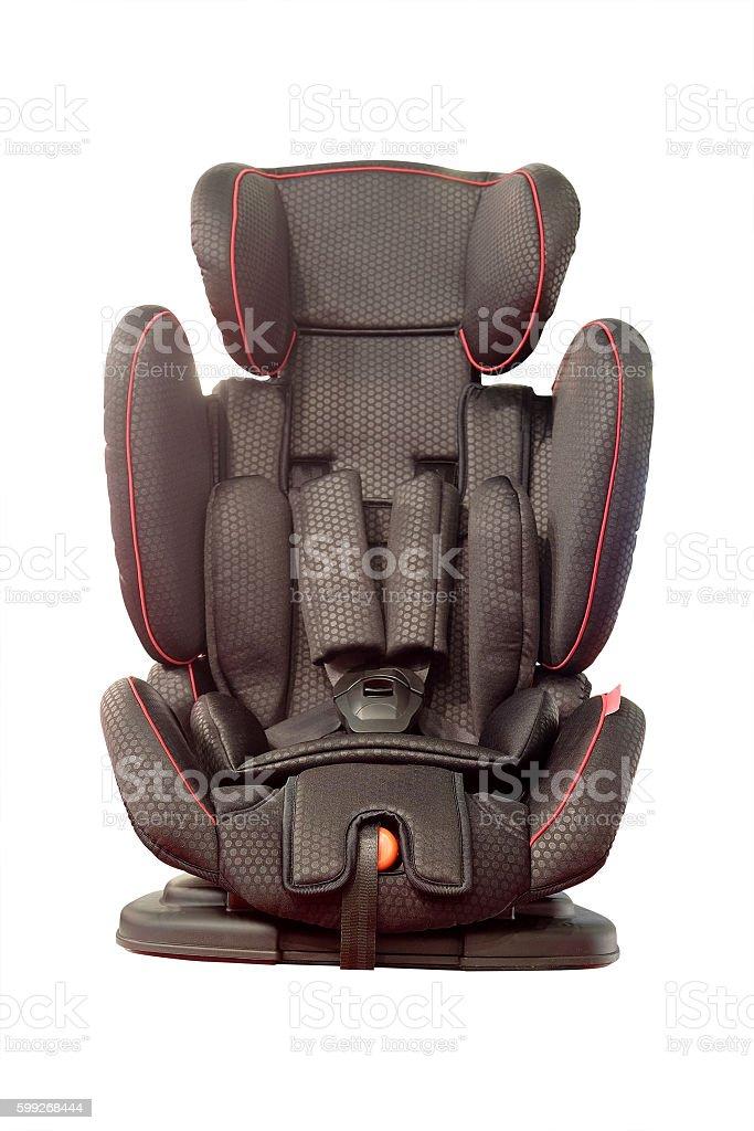 Baby car seat stock photo