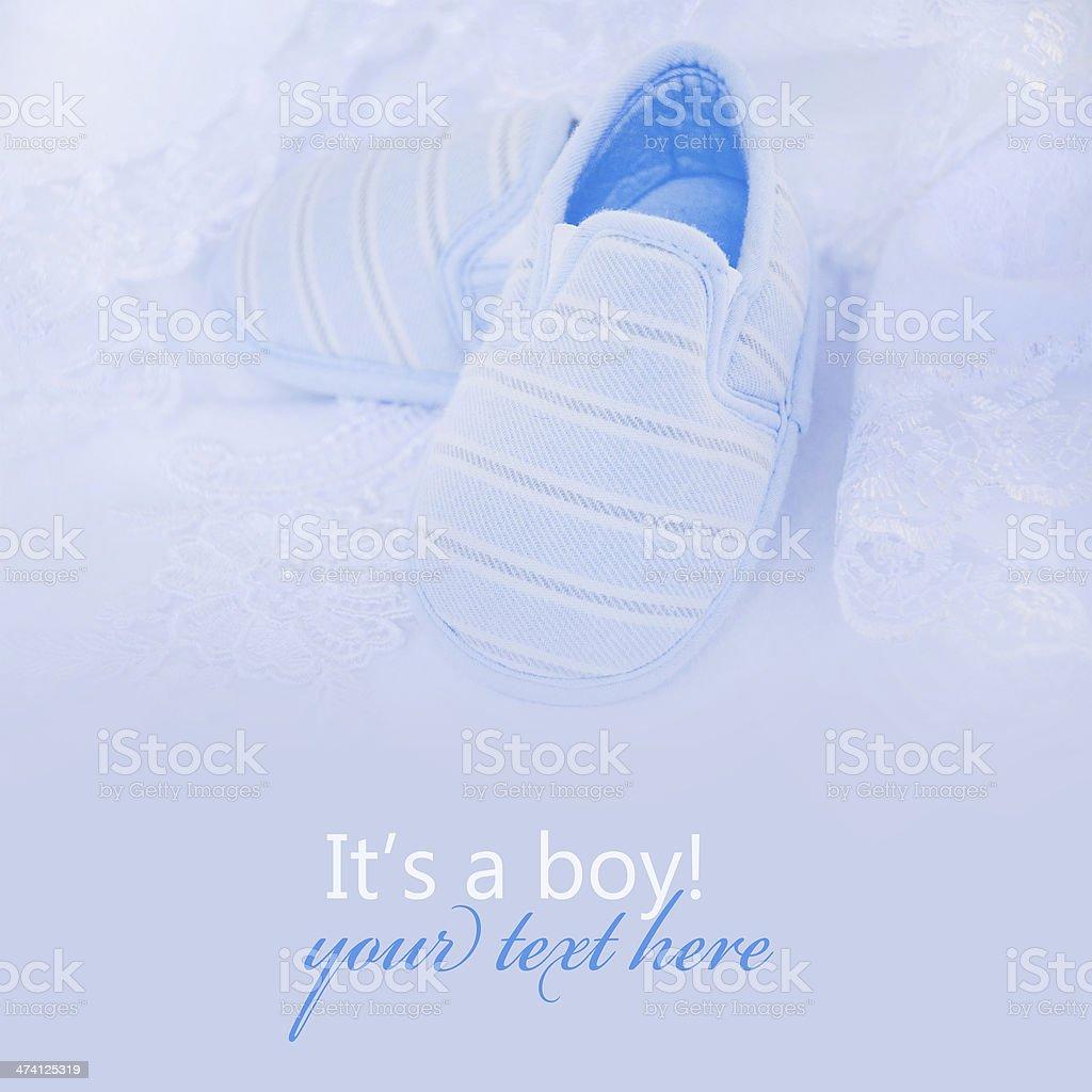 Baby card. royalty-free stock photo