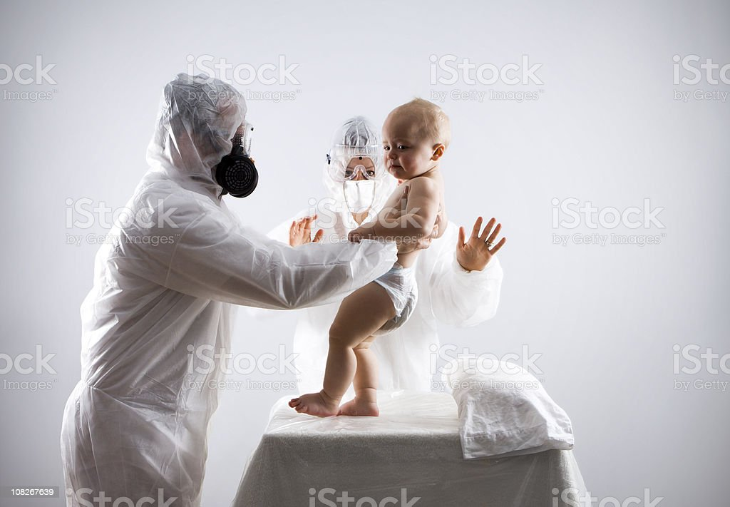Baby Care royalty-free stock photo