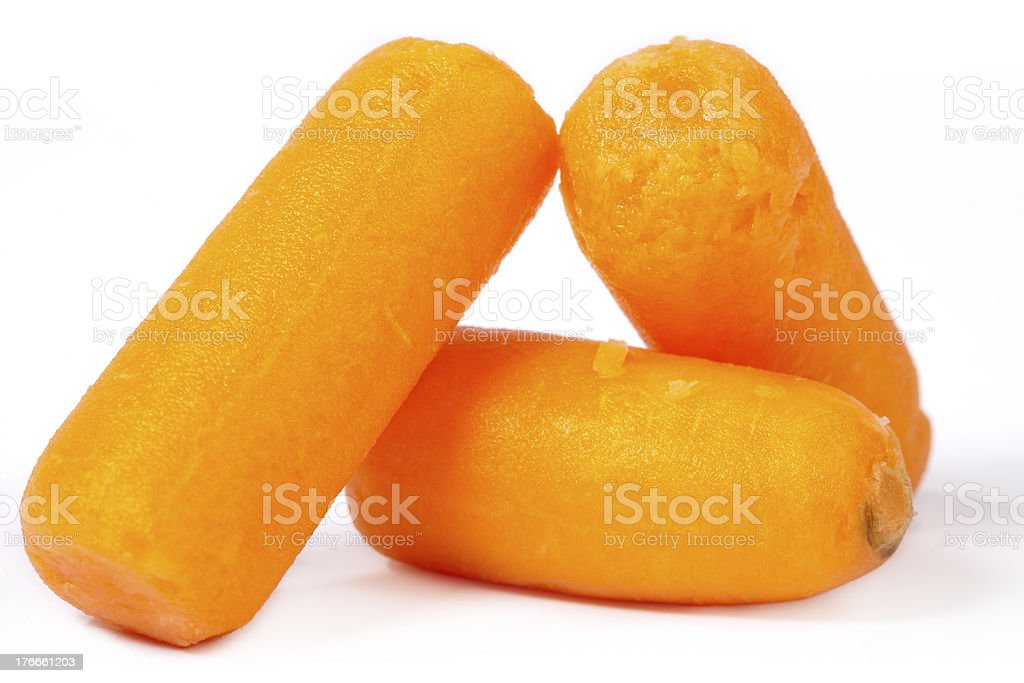 Baby Carrots royalty-free stock photo