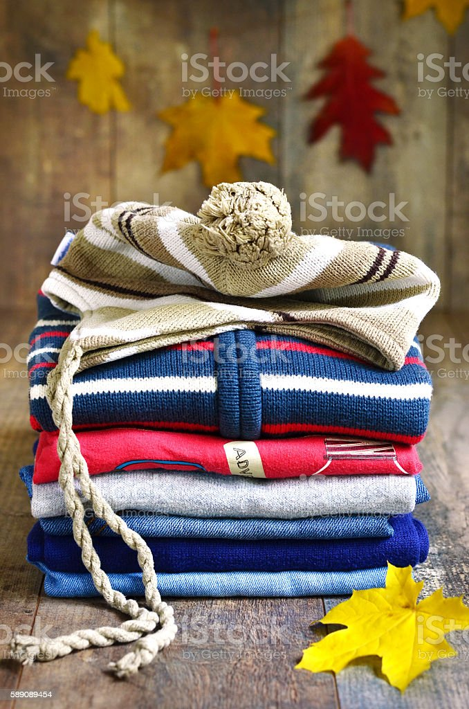 Baby clothes. stock photo