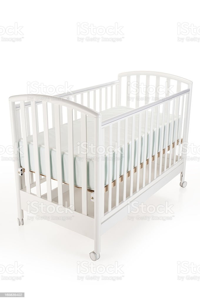 Baby Crib royalty-free stock photo