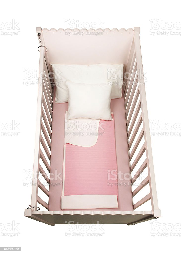 Baby Crib (Click for more) royalty-free stock photo