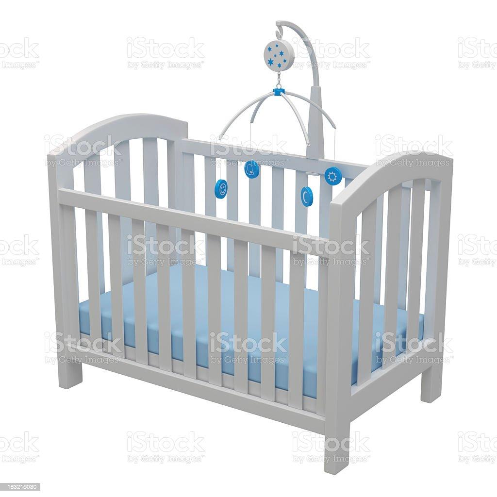 Baby Crib stock photo
