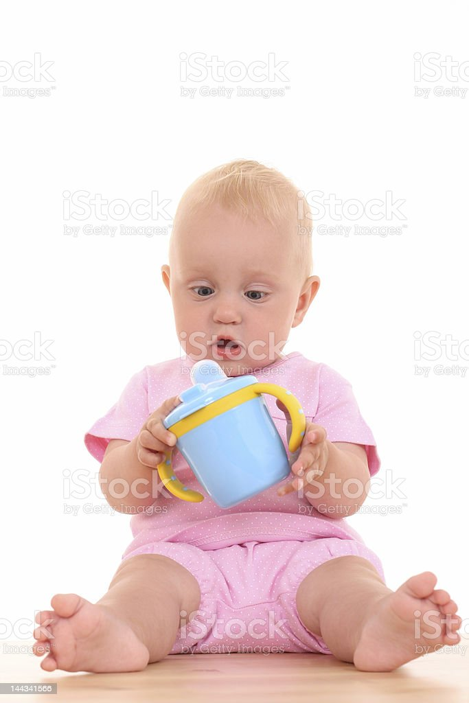 baby cup royalty-free stock photo