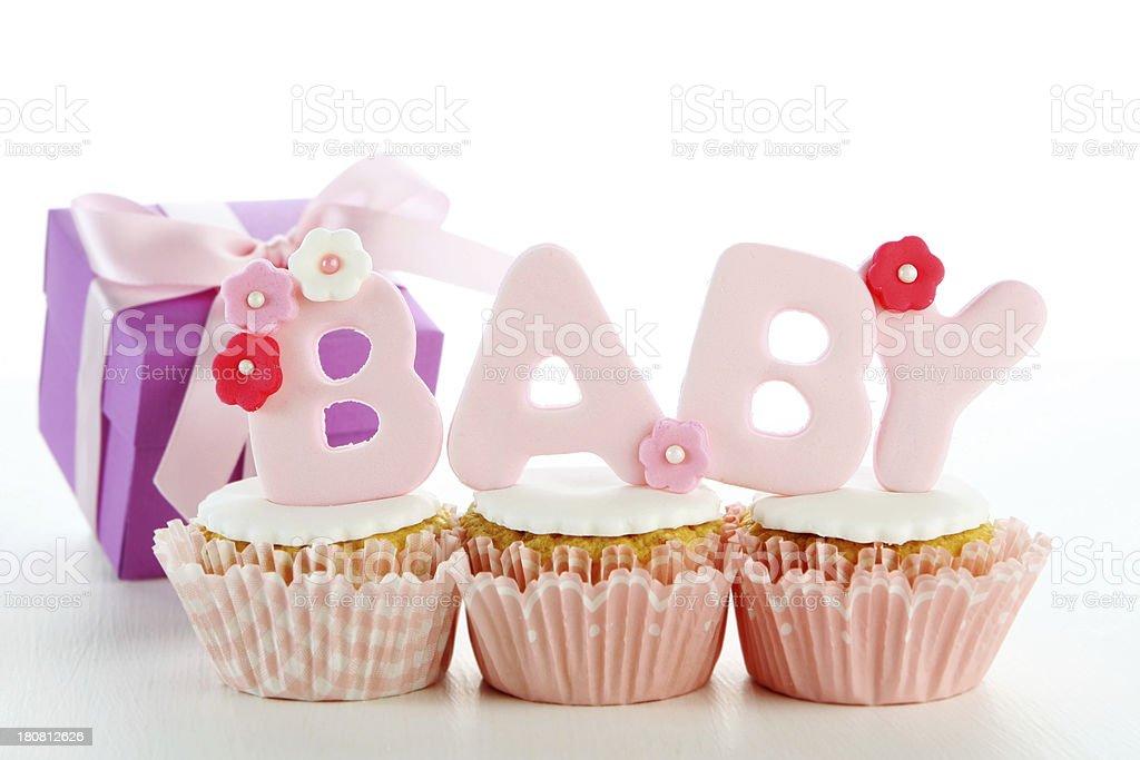 baby cupcakes royalty-free stock photo