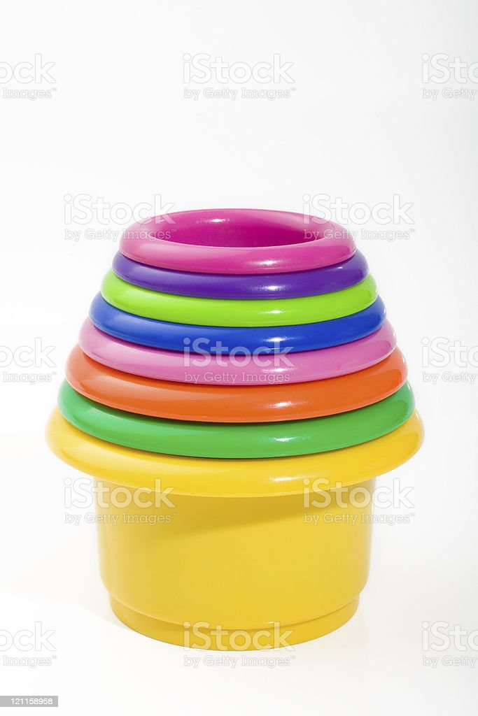 Baby cups royalty-free stock photo